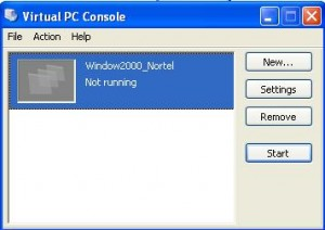Removed VirtualPC Master File