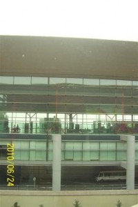 PEK Gate Area with Triple Levels