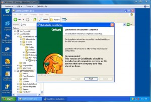 Quickbooks 2006 Installed