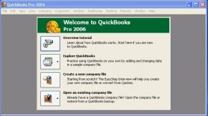 QuickBooks 2006 Runs in Windows 7 Professional