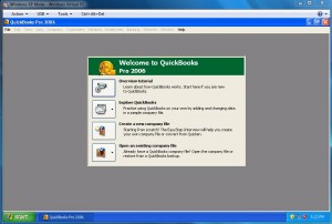 QuickBooks 2006 Runs in XP Mode