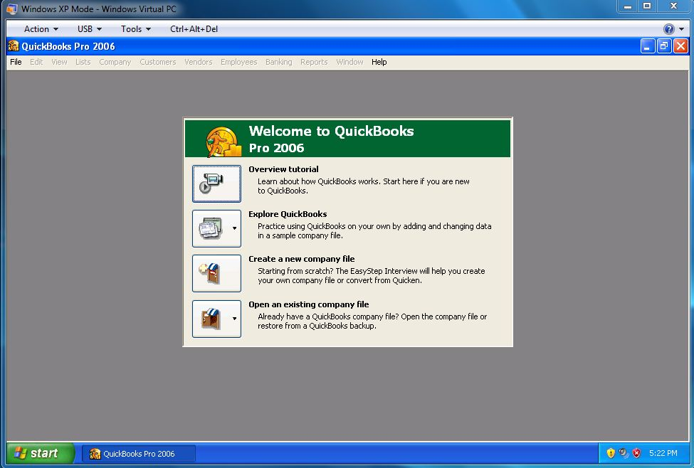 How to Install QuickBooks 2006 on Windows 7 « Share Knowledge