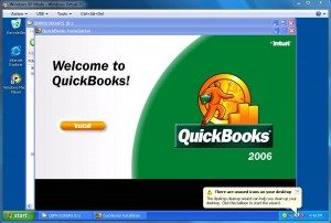 Quickbooks 2006 in Windows 7 XP Mode