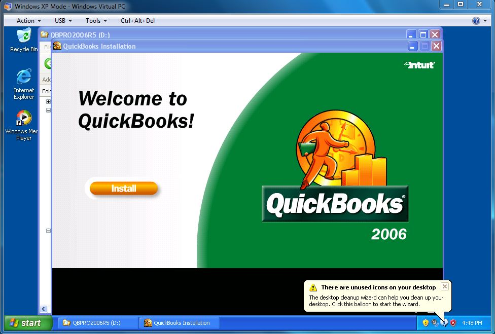 How to install quickbooks 2006 on windows 7 171 share knowledge