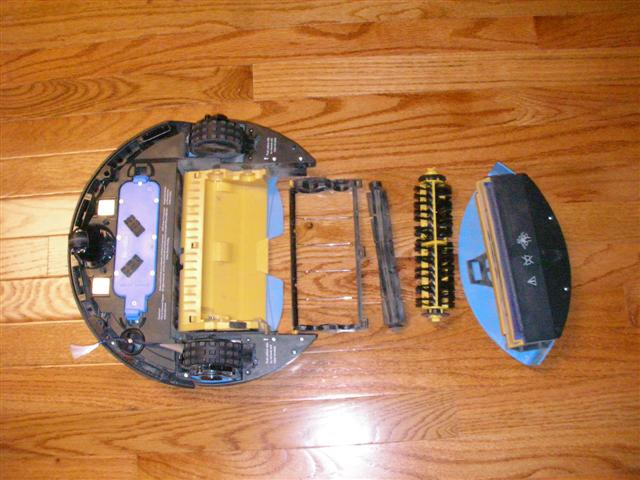 Roomba 450 Under Side