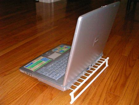 Laptop Stand with Laptop