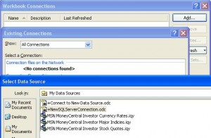 Select New SQL Server Connection