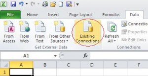 Select Existing Connections