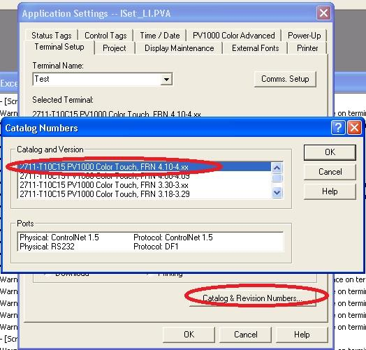 Download Flash panel view firmware
