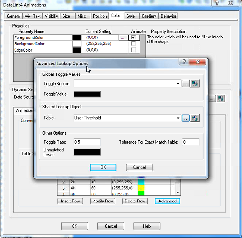 004 - Animations with Threshold Table
