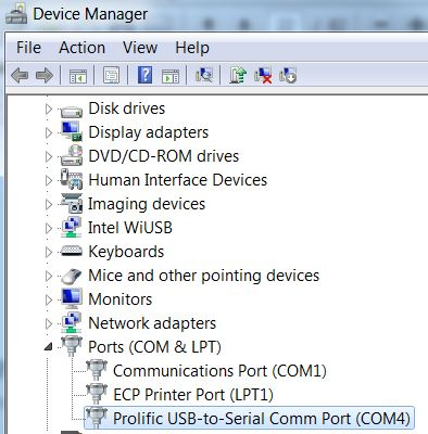 001 - Check Comm Port Number in Win7