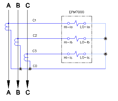 What epm7000 phasor diagram should look like for 2ct delta 000a epm7000 ct circuit abc rotation phasor diagram ccuart Image collections